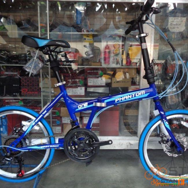 Phantom One Folding Bike with Disc Brakes