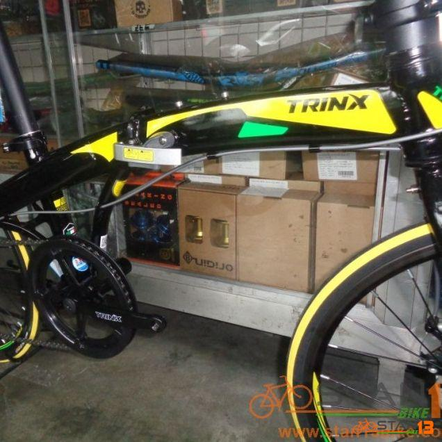Trinx Dolphin 1.0 Folding Bike Disc Brakes