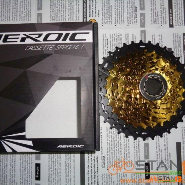 Cassette Aeroic 10 Speed Gold 11-42T