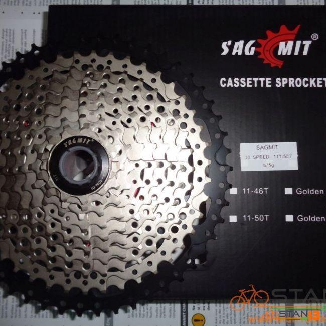 Cassette Sagmit 11-50T MEGA Big 10 Speed 575 grams