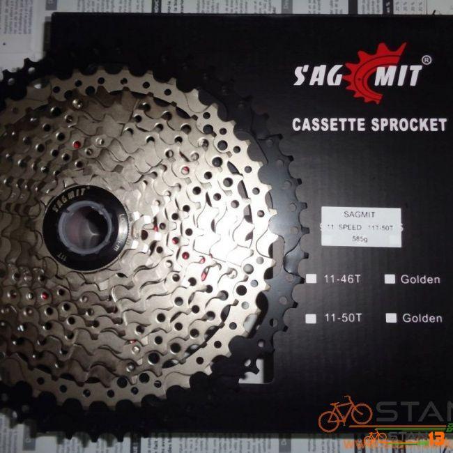 Cassette Sagmit 11-52T MEGA Big 11 Speed 595 grams