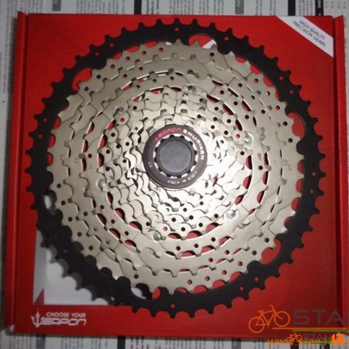 Cassette Weapon Shuriken PRO 10 Speed 50T Cassette Sprocket 1 Year Warranty