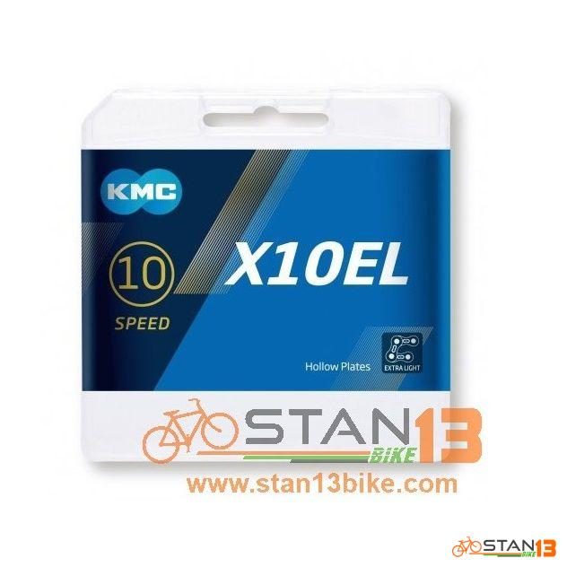 Chain KMC X10 EL 10 Speed Silver model 2019 with New box
