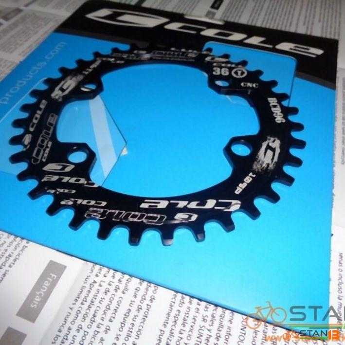 Chainring Cole Narrow Wide 1x Chainring 96 BCD 32T 34T 36T Oval or Round