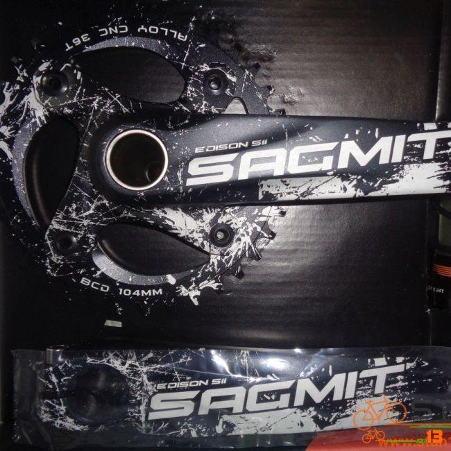 Crank Sagmit 1X Narrowwide with BB Set