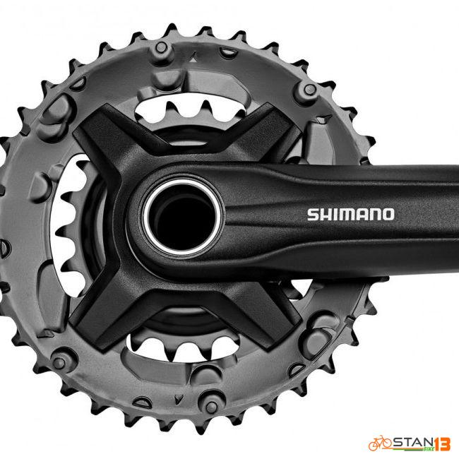 Crank Shimano 2X or 3X Crank M210 Hollowtech New Edition with BB