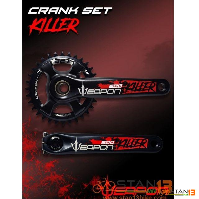 Crank Weapon KILLER 500 AL7075 Full Alloy with BB