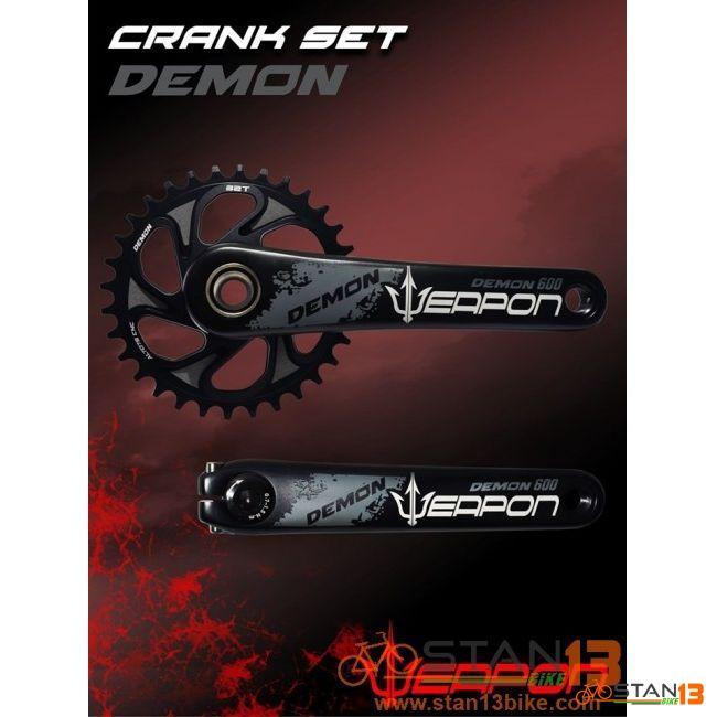 Crank Weapon Demon Al7075 Direct Mount SRAM Tech with BB