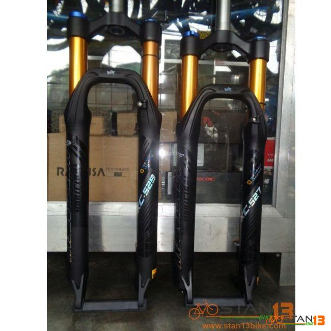 Fork Mountainpeak Air Suspension Fork with Lock Out 27.5 and 29er