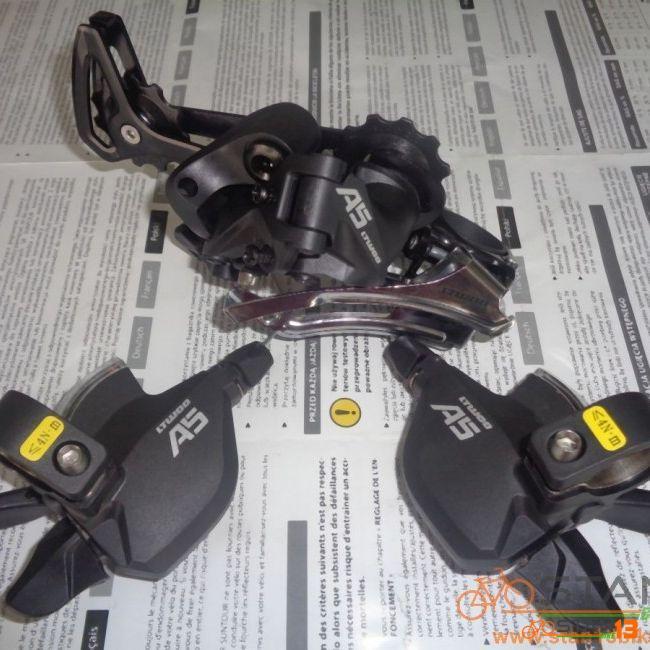 Gear Set LTWOO A5 9 Speed Shifter FD RD Gear Set BLACK