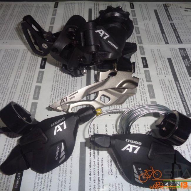 Gear Set LTWOO A7 10 Speed Shifter FD RD Gear Set BLACK
