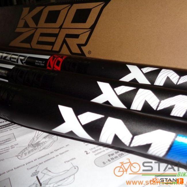 Handlebar Koozer XM Double Butted 6061 Alloy