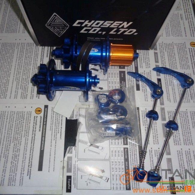 Hub Chosen 150T Super High Engagement Hub Thru Axle Ready with Steel Anti Bite Spacer