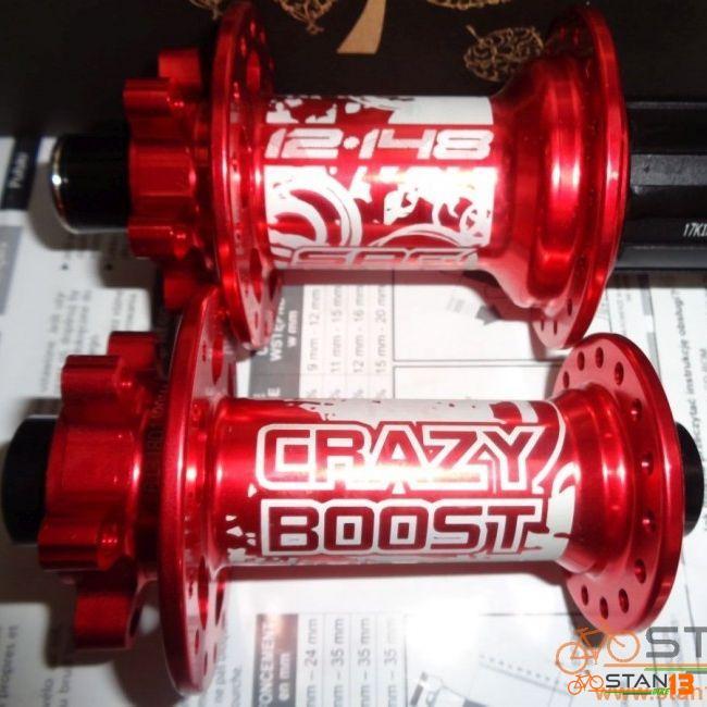 Hubs Sagmit Crazy Boost Hubs BOOST 12 x 148 Rear and 15 x 110 Front
