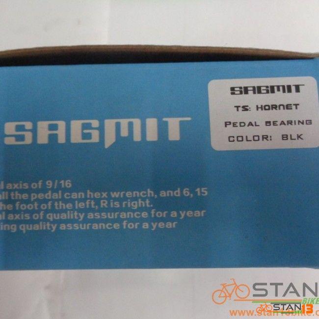 Pedal Sagmit Hornet Sealed Bearing Alloy Pedal BLACK color
