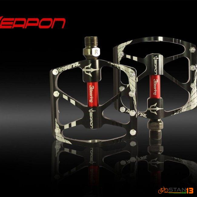 Pedal Weapon Arsenal 3 Sealed Bearing Pedals Super Smooth