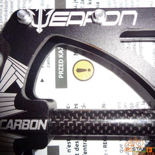 Pedal Weapon Predator 3 Sealed Bearing Pedal CARBON Axle Super Smooth