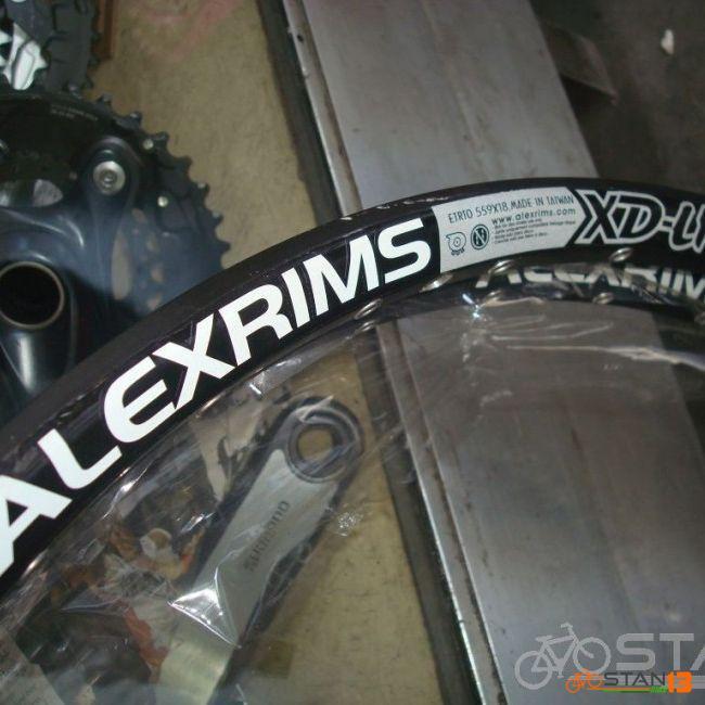 Rim Alex Rims XD Lite Light Weight Cross Country 27.5 36 Holes