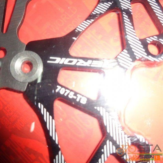 Rotor Aeroic 160mm Bolt Type with Bolts