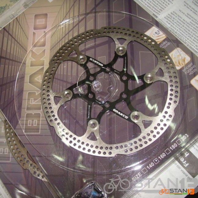 Rotor Bracko Floating Disc Rotor 160mm Bolt Type