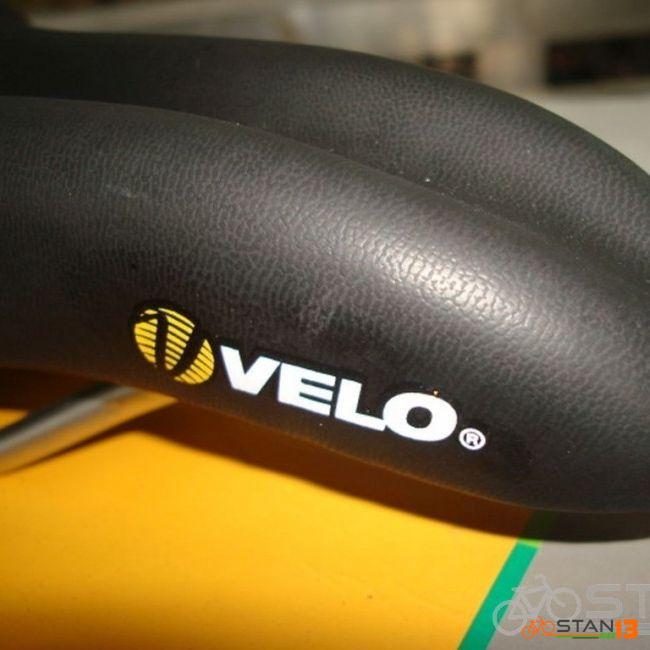 Saddle Velo Plush Trimflex m0 VL-3147 Saddle Thick Seat Cushion Very Comfortable