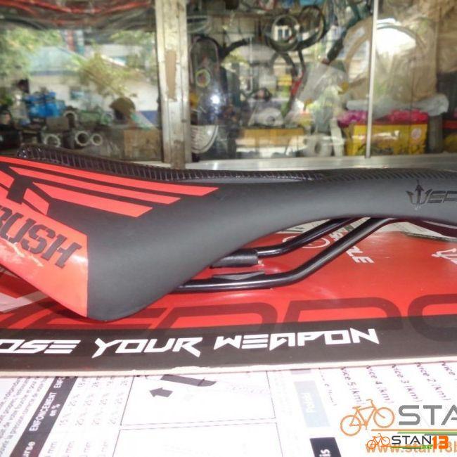 Saddle Weapon Ambush Aerodynamic Saddle with Air Vent