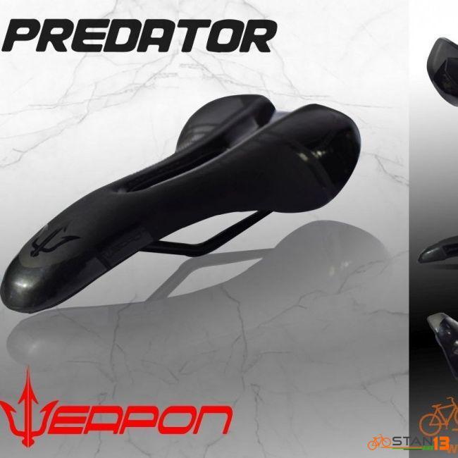 Saddle Weapon Predator Aerodynamic Saddle with Air Vent