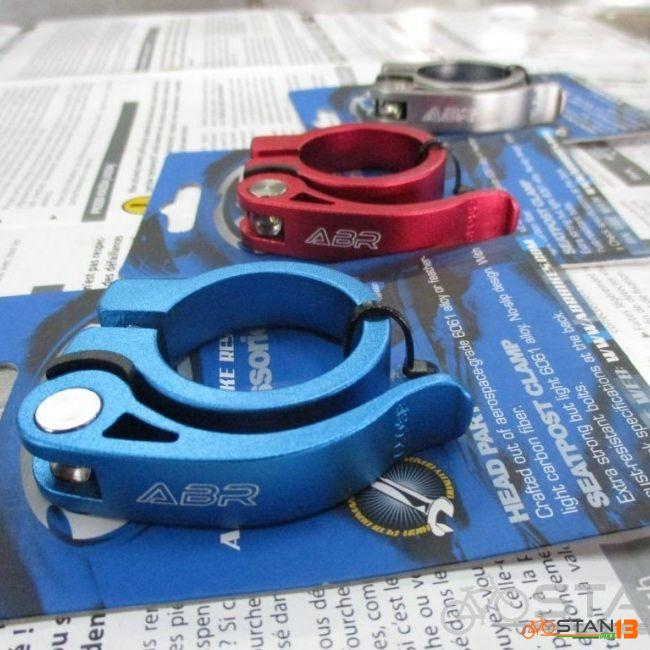 Seatclamp ABR Seatclamp Quick Release for 31.6 or 30.9 Seatpost