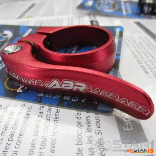 Seatclamp ABR Torq Seatclamp Alloy Quick Release for 30.9 or 31.6mm Seatpost