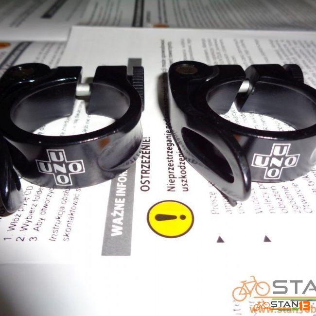 Seatclamp UNO Quick Release for 30.9 and 31.6 Seatpost
