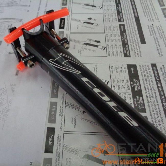 Seatpost Cole 31.6 Adjustable Degree Light Weight