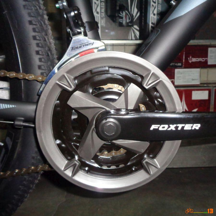 Foxter 302 Bike Model 2020 27.5 Alloy 24 Speed Shimano Gears Fork with Lock Out