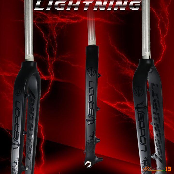 Fork Weapon Lightning Rigid Fork Al6069 TRIPLE BUTTED