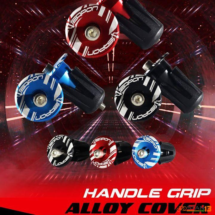 Grip Weapon Alloy Handlegrip End Lock