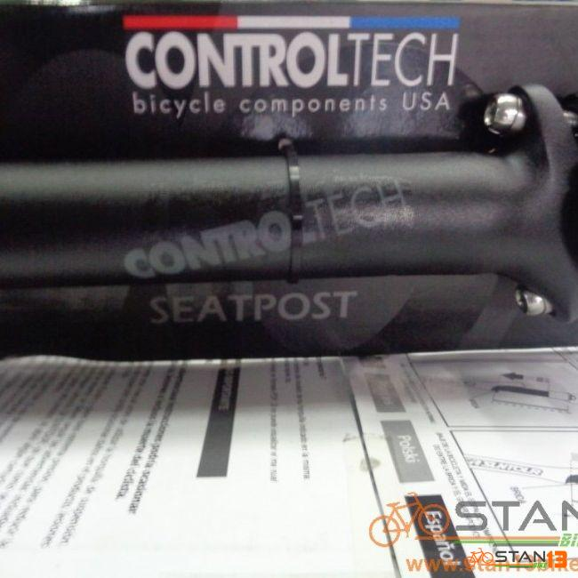 Seatpost Controltech One Stealth Black 400mm