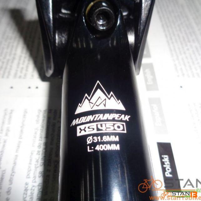 Seatpost Mountainpeak 400mm 31.6 CNC ride without Limitation
