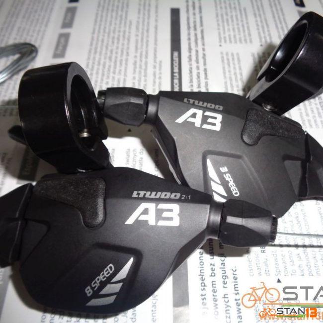 Shifter LTWOO A3 8 Speed Shifter 2:1 SHIMANO ADAPTABLE