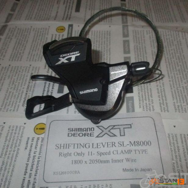 Shifter Shimano XT Shifter 11 Speed Right Only Clamp Type