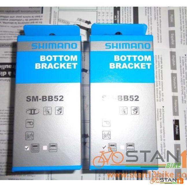 Shimano BB52 for Shimano Alivio, Deore, SLX Crank