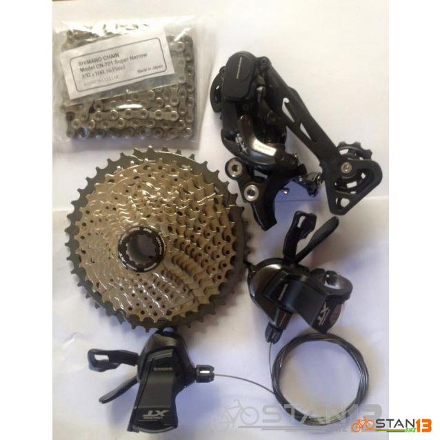 Shimano XT 11 Speed Upgrade Kit 2 x 11 Japan
