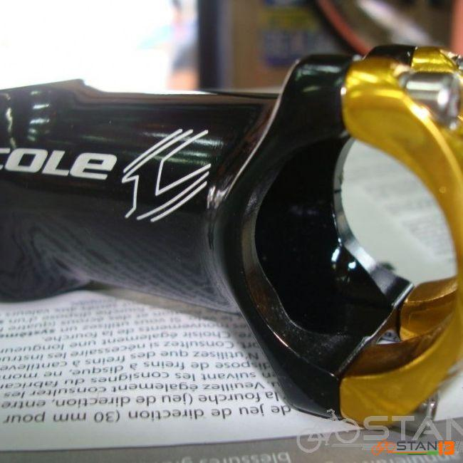 Stem Cole Turret bike XC stem Light weight 80mm