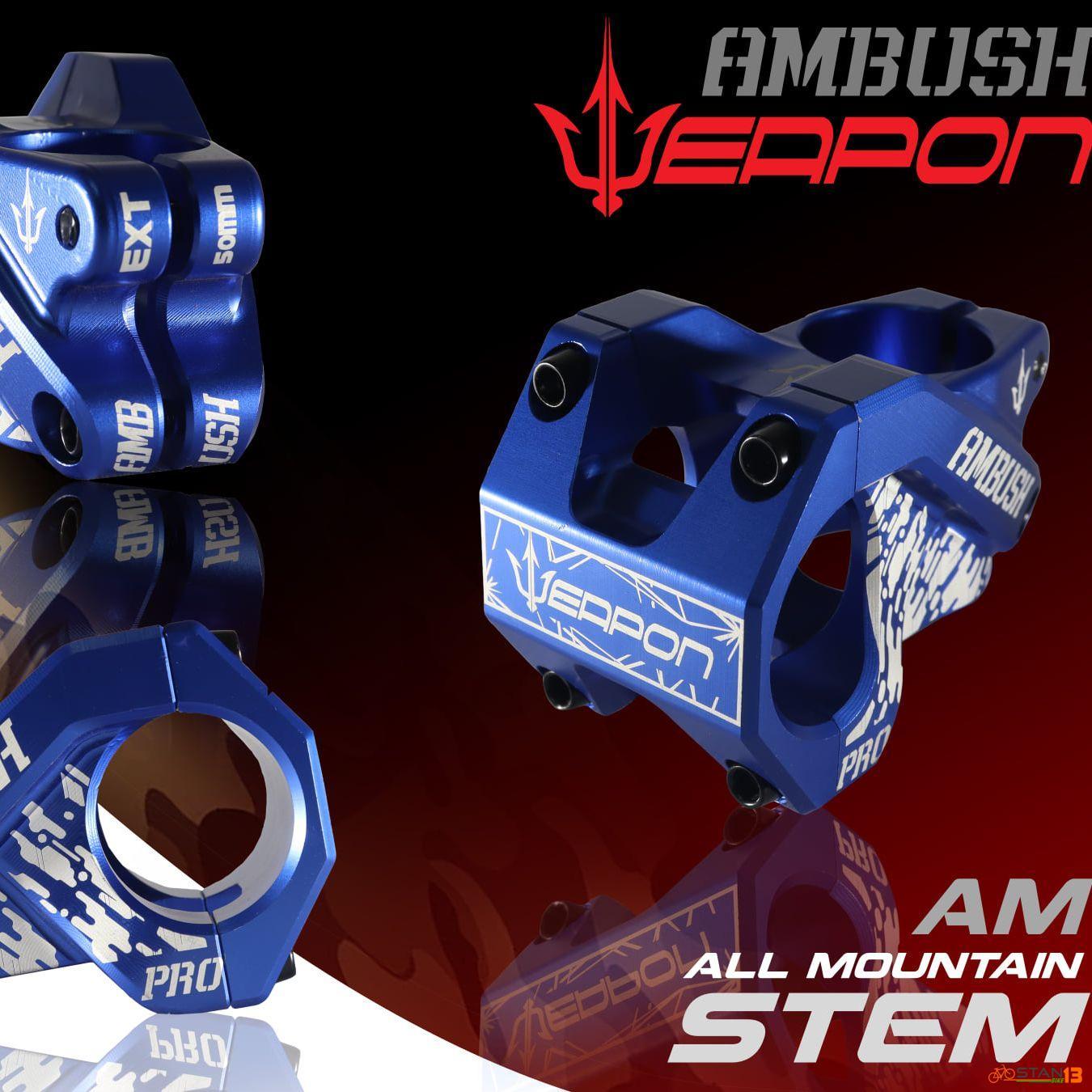 Stem Weapon Ambush All Mountain AM Stem 50mm