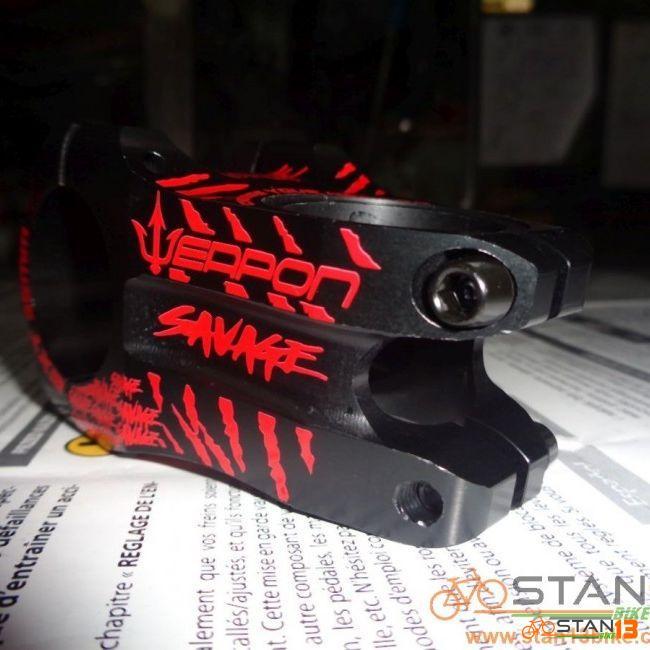 Stem Weapon Savage Short Stem CNC 45mm