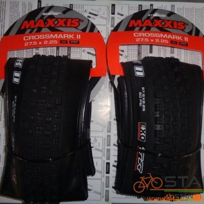 Tire Maxxis Crossmark II Folding Tires 27.5 and 29 x 2.25 TUBELESS READY