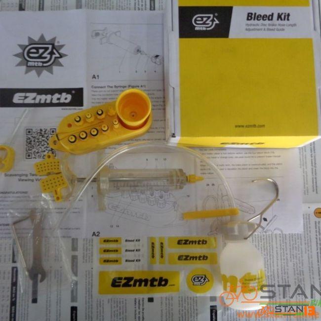 Tools Bleed Kit EZ Complete Bleed Kit Shimano Tektro Hayes Magura Formula Avid Sram Weapon