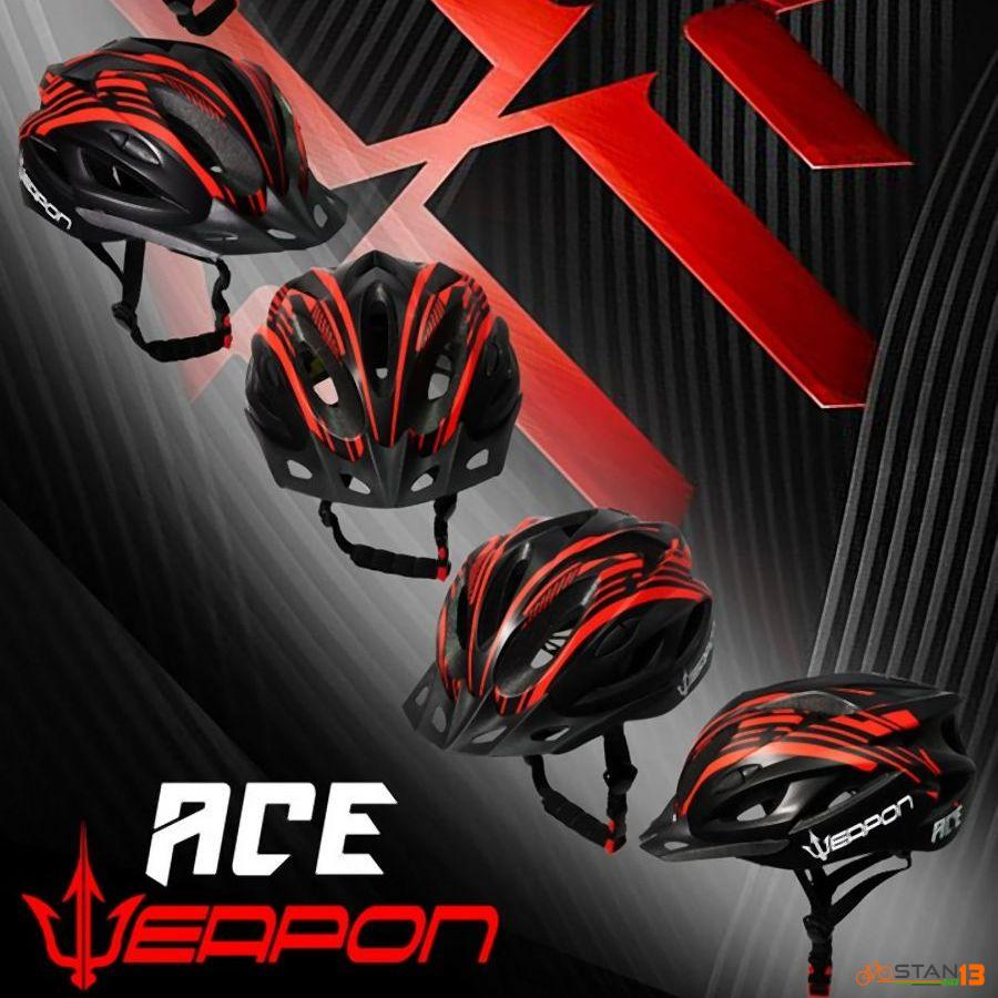 Helmet Weapon Ace Helmet with Visor AFFORDABLE