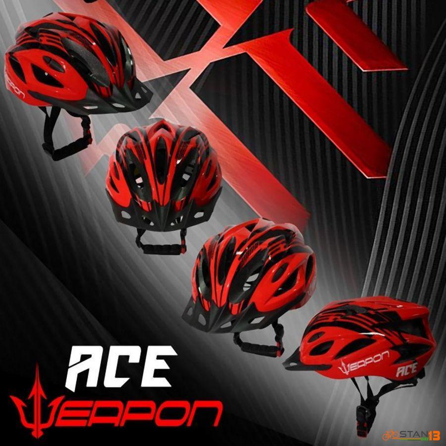 Helmet Weapon Ace Helmet with Visor AFFORDABLE
