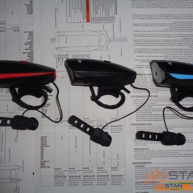 Light Electric Horn Loud Sound 140 Decibels with Head Light