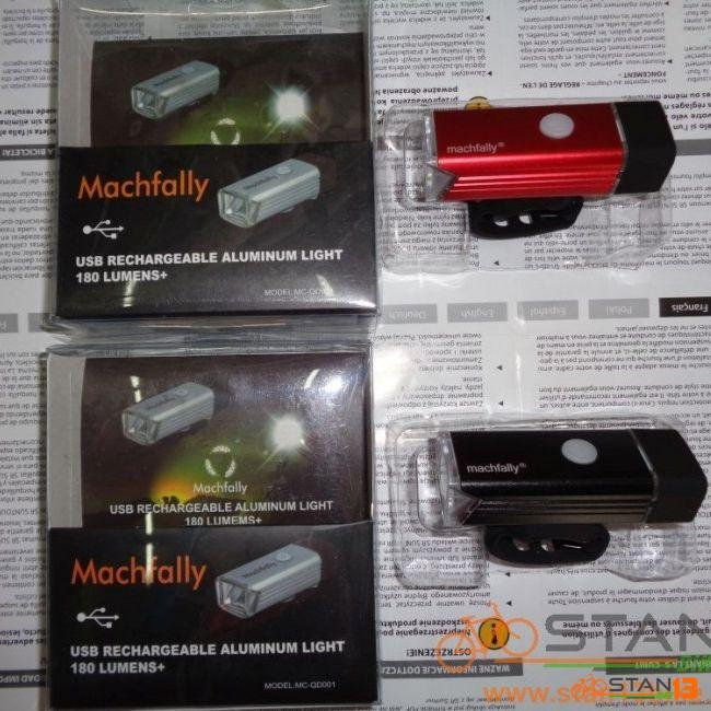 Light Macfally USB Rechargeable Bright Front Light