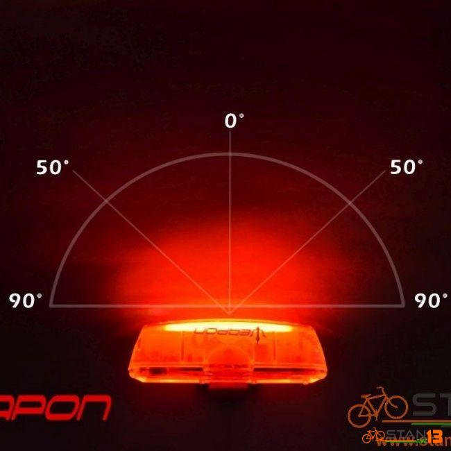 Light Weapon Flame 100 Lumens 30 Cob Chips Very Bright 500 mAh Modern Design and Very Durable